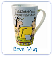 Bevel Mugs, Steins & Travel Mugs