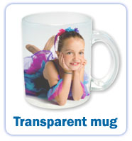 Transparent mugs