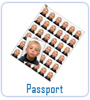 Passport Size Photo Print