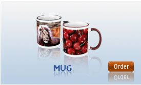 Personalized Printing on mugs